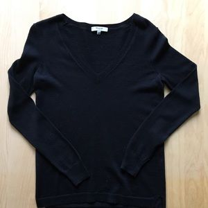 Black Madewell V neck sweater size xs